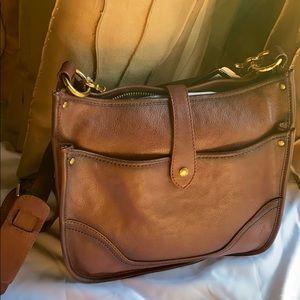 New Frye Madison crossbody leather bag purse